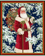 "FABRIC PANEL Quilting Treasures ~ CHRISTMAS EVE ~ Liz Dillon (26626 X) 36"" x 44"""