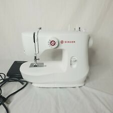 SINGER MX60 Portable Sewing Machine - White Working Includes Machine And Pedal