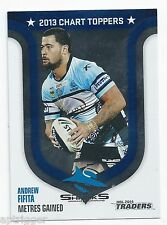 2014 NRL Traders Chart Toppers (SR 2013 / 8 ) Andrew FIFITA Sharks