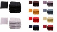 500 GSM Egyptian Cotton Face, Guest, Hand, Bath Sheet Flannel Shower Towel Cloth