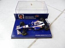 Williams Renault FW18 Jacques Villeneuve #6 1996 Minichamps 1/43 F1 Fórmula 1