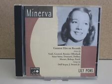 LILY PONS- Greatest Hits on Records, Arias/Songs 1928-39 CD (Minerva 1996) Opera