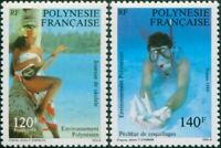 French Polynesia 1989 Sc#510-511,SG560-561 Polynesian Environment set MNH