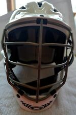 Cascade White Cpv Lacrosse Helmet Size Xs Spr Fit adjustable ~ L@K ~ Euc
