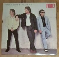 Huey Lewis And The News – Fore! Vinyl LP Album 33rpm 1986 Chrysalis – CDL 1534