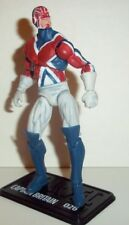 marvel universe CAPTAIN BRITAIN 2010 series 2 026 26 america spider-man legends
