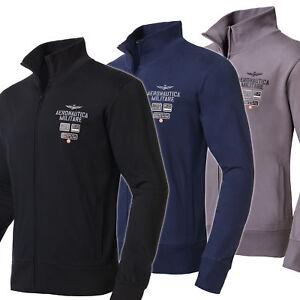 Aeronautica Militare Sweatjacke, Herren, schwarz/navy/grau ( A210 )