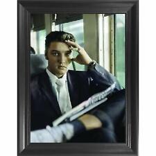 Elvis Presley Framed 3D Picture - 14.5x18.5 3D Art Pictures, Lenticular Posters