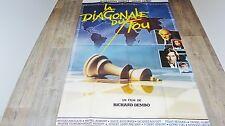 LA DIAGONALE DU FOU   !  affiche cinema
