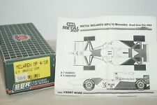 BBR McLaren MP4/10 Mercedes 1995  1/43 metal model kit