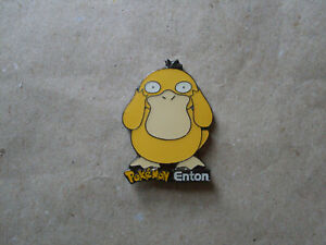 Pokemon -  Pin.   Enton.  Japanischer Manga / Comic.   Seltenes Teil.