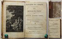 Kampe Robinson der jüngere Ein Lesebuch für Kinder 1812 2 Teile in 1 Bd sf