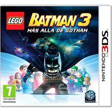 LEGO BATMAN 3 MÁS ALLÁ DE GOTHAM EN CASTELLANO NUEVO PRECINTADO 3DS N3DS