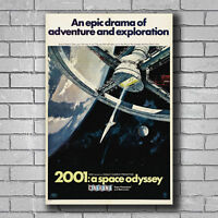 2001 MOVIE POSTER 24x36-52188 A SPACE ODYSSEY THE ULTIMATE TRIP