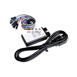 USB Logic Analyzer Device Set USB Cable 24MHz 8 Channel 24MHz for Saleae ARM