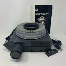 KODAK Medalist II Carousel Projector with High Grade Case COMPLETE & PERFECT!