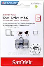 SanDisk 256GB Ultra Dual Drive M3.0 150MB micro-USB OTG USB 3.0 Flash Drive 256G