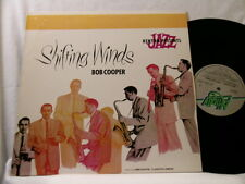 BOB COOPER Shifting Winds Jimmy Giuffre Claude Williamson LP Bud Shank