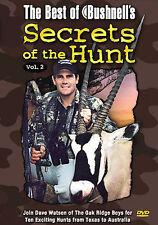 The Best of Bushnells Secrets of the Hunt - Vol. 2 (DVD, 2004)