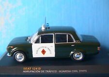 SEAT 124D AGRUPACION DE TRAFICO GUARDIA CIVIL 1977 IXO