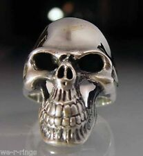 Sterling Silver .925  Classic Skull  Ring RG31/S