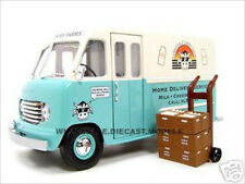 1950 FORD STEP VAN MILK TRUCK 1:24 DIECAST MODEL CAR BY UNIQUE REPLICAS 18572