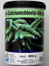 Calciumchlorid Dihydrat Preis Aquaristik 800g für Meerwasser 12,44€/kg