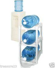 Water Bottle Storage 5 Gallon Bottle Buddy 3-Pack Rack Shelf System Home Office