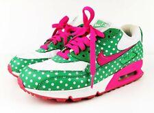 Nike Air Max 90 ID Polka Dot White Green Pink - Ladies - UK 4.5 - US 7