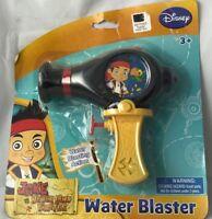 Disney Jake And The Never Land Pirates - Water Blaster! Ages 3+ Kids Water Gun