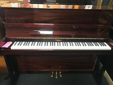 More details for challen upright piano-mahogany polyester-english-can deliver this piano