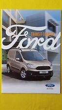Ford Transit Courier Kombi Folleto Ventas catálogo base tendencia Abril de 2016 Como Nuevo