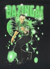The Big Bang Theory Sheldon BAZINGA T Shirt Sz Small Ripple Junction 100% Cotton