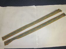 NOS GM 1962 63 64 65 Chevy II Nova SS 2dr Hardtop Convertible 1/4 Window Fuzzies