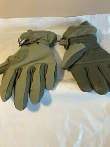 US Army USMC Green Cold Wet Weather High Quality Gloves Size Medium