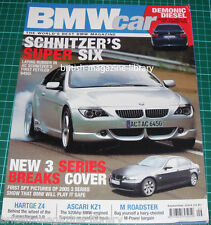 BMW Car September 2004 - Buying Guide: ZM Roadster - Hartge Z4 KZ1