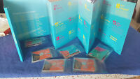 2012 olympics 50p full set and finisher medallion in folder all BU and sealed