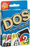 Uno Dos Card Game 2 -4 Player For Ages 8+ New & Sealed Free Postage