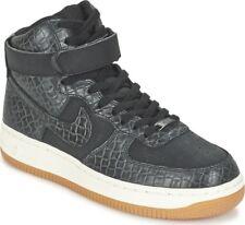 Nike Wmns Air Force 1 Hi Premium 654440-009 Schwarz Schuhe Hohe Damen Gr.42