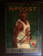 1995-96 MICHAEL JORDAN TOPPS FINEST #229 Unpeeled CHICAGO   BULLS