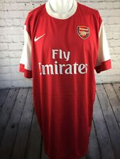 Arsenal Shirt Nike Home Kit 2010- 2011. Excellent Condition. Adults XXL. AFC