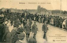ORLEANS Procession de Jeanne d'Arc Compagnie Ambulanciers Brancardiers Loiret