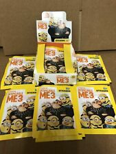 More details for despicable me 3 -- 36 packs of stickers topps sticker packets