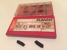 New PlanSee Insert Carbide - Gx16-2E4.00N0.60 Sr127- 4274213.9. 10 P/ Per Box
