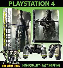 PS4 Skin Call of Duty Guerre Infinite cod AUTOADESIVO NUOVO + 2 PAD Decalcomania Vinile era
