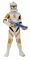 Star Wars Clone Wars Clone Trooper Child Commander Cody Costume Small Size 4 - 6