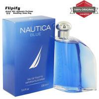 NAUTICA BLUE Cologne 3.4 oz / .67 oz EDT Spray for MEN by Nautica