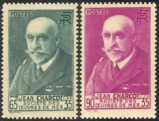 Francia 1938 Jean Charcot/explorador antártico/náufragos los Marineros 2 V Set (n43377)