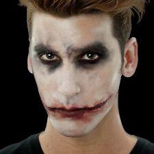 Latex Woochie Horror Jokester Set 3D Fancy Dress Joker Make Up Appliance #WO637
