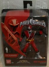 NEW SABAN'S POWER RANGERS SUPER NINJA STEEL RED  RANGER ACTION HERO  43911  NIP